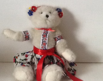 Ukrainian White Bear from the Poltava Region