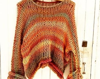 Women sweater knitwear   knitted sweater casual loose sweater