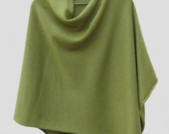 Cashmere and Silk Poncho