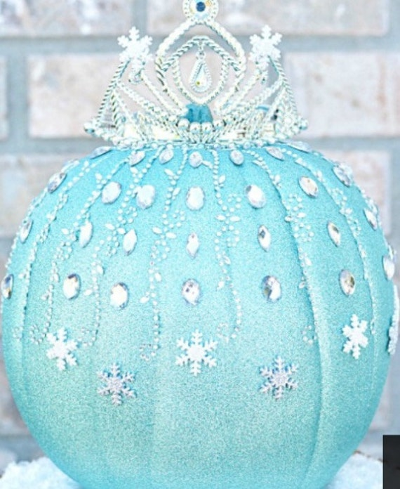 Cinderella Birthday Party Pumpkin Centerpiece Decorations