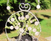 Springtime in The Park - Tree of Life Pendant or Brooch Iconic Central Park Horse and Carriage