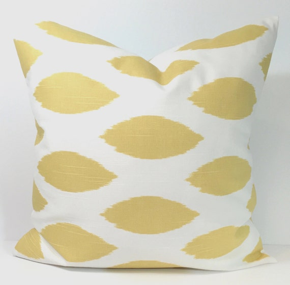 Pale Yellow Decorative Pillows : GOLD PILLOW, PALE Yellow Pillow, Pillow Cover, Decorative Pillow, Gold Throw Pillow, Yellow ...