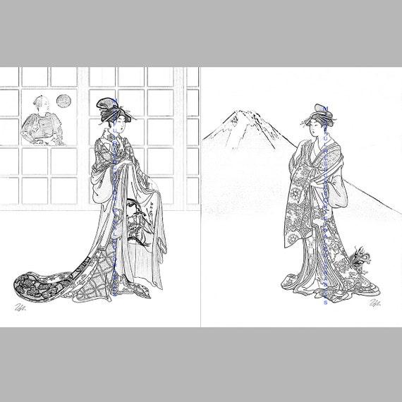 Items similar to Samurai Kimono