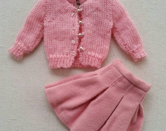 Vintage skipper School days Skirt and cardigan