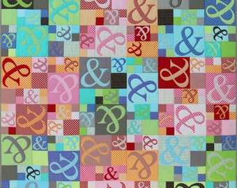 Ampersand Quilt Pattern PDF by Emma Jean Jansen - Immediate Download