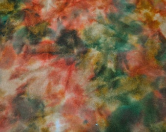 Rug Hooking, Applique, Craft Wool - Fall Series, November - Hand Dyed Multi-Dye Fat Quarter