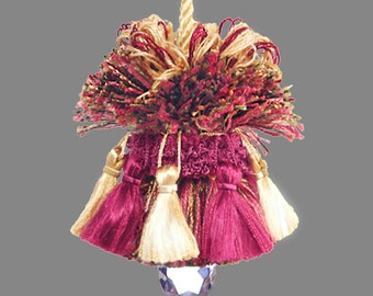 Tuscan Tassel - Home Decor Tassel - Wedding Chair Tassel - Drapery Tassel - Pillow Accent Tassel - Small Designer Tassel - Drapery Tie Back