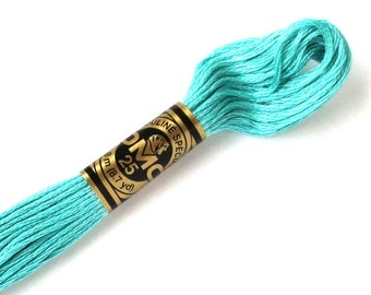 DMC 959 Floss - 6 Strand Embroidery Floss - Medium Seagreen