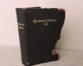 Vintage Leather Religious Book - The Catholic's Manual - 1944 - Canon Law