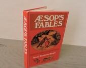 Vintage Children's Book - Aesop's Fables - 1968 - Illustrated