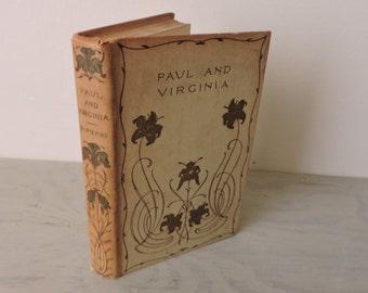 Antique Romance Novel - Paul And Virginia - Circa 1900 - French Literature