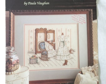 Let's Pretend Counted Cross Stitch Pattern by Paula Vaughan Book 19