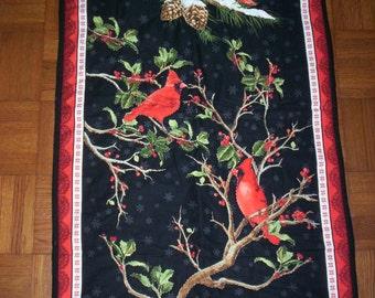 Christmas Cardinals Wall Hanging