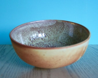 High Fire Stoneware Ceramic Bowl with a Speckled Finish