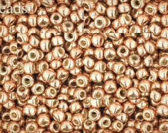 8/0 TOHO seed beads 17g Toho beads 8/0 seed beads Permanent Finish Rose Gold 8-PF551 Opaque last