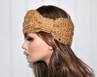 Crochet Headwrap, Knot headband, Crochet turban,Handmade Accessory for her,