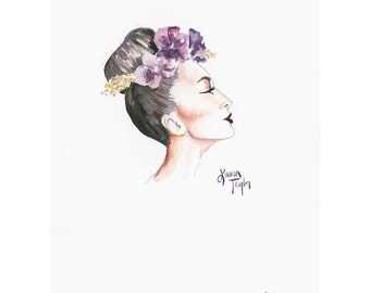 Orchid Giclee Print