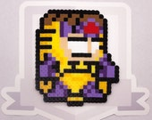 MODOK Perler Bead Sprite Necklace || Ultimate Marvel vs Capcom 3 || Gaming, Accessory, Wearable, Gift