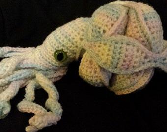 Pastel Puzzleball Octopus