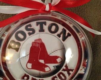 Boston Red Sox ornaments