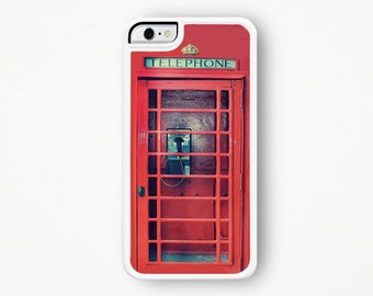 Phonebooth iPhone Case - Vintage Phonebooth iPhone 6S Case iPhone 6 Plus Case Vintage Phone iPhone 6 Case iPhone 5 Case UK iPhone 5 Case