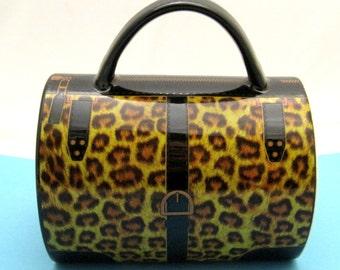 Amazing Leopard Purse Handbag Coffee Mug Very Cute Handbag Shaped!