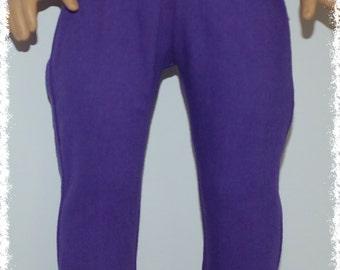 "18"" Doll Denim Leggings -Purple  (18"" Doll - American Girl Doll)"