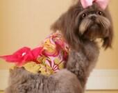 Pink Squirrels DOG HARNESS
