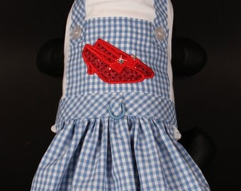 SAMPLE SALE:  Halloween Dorothy Dog Dress