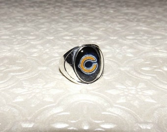 Chicago Bears Ring Etsy