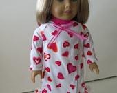 American Girl Doll Clothes; American Girl Doll Nightgown; American Girl Doll PJ's; Doll Nightgown; Doll Pajamas