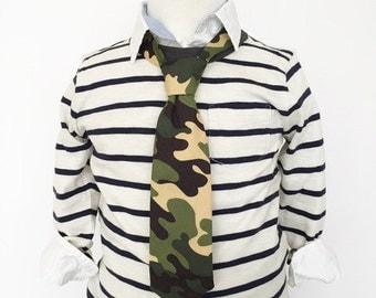Camouflage Necktie | Boys