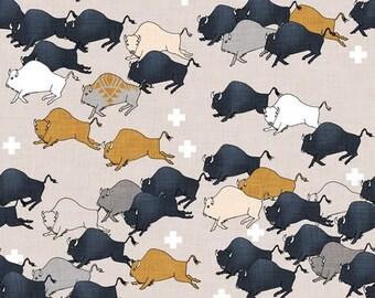 Crib Sheet Buffalo Stampede. Fitted Crib Sheet. Baby Bedding. Crib Bedding. Minky Crib Sheet. Crib Sheets. Buffalo Crib Sheet.