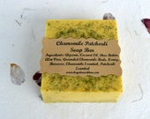 Chamomile Patchouli Soap, All Natural Soap, Glycerin Soap, Chamomile Soap, Patchouli Soap, Patchouli body wash, hippie soap, bath and body