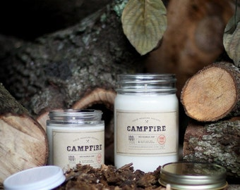 Soy Candle - CAMPFIRE