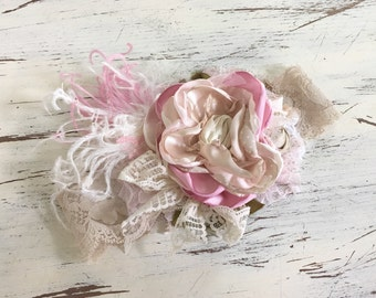 Baby Girl Headband-Dollcake Headband- Matilda Jane Headband- Baby Headband- Toddler Headband- Flower Girl Headband-Well Dressed Wolf