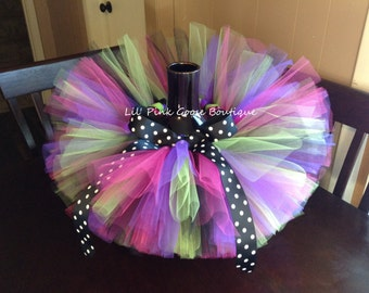 FUNKY WITCH TUTU, Baby Halloween Costume, Baby Witch Costume, Tutu Costume, Halloween Tutu, Baby Witch Outfit, Witch Halloween, Newborn Tutu