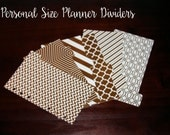 Set of 6 Personal Planner Dividers