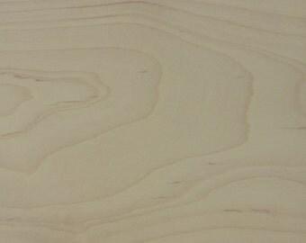 natural maple sample