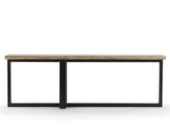 8' concord console table