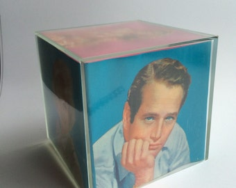 Vintage photo cube with original box