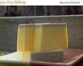 ON SALE Pumice Soap, Blood Orange Lava Soap, Exfoliating Soap, handmade Soap, Unisex, For Men, 4oz.