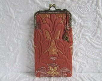 132A - iPhone 6 Case Fabric, iPod Touch Case, Cell Phone Case, Samsung Galaxy Case, cover handmade