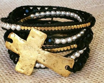 Wrapped in Faith Wrap bracelet/Belt