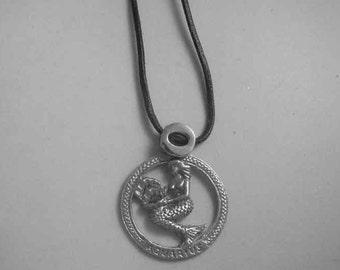 aquarius zodiac sterling silver 925 charm pendant necklace horoscope zodiaque pendants