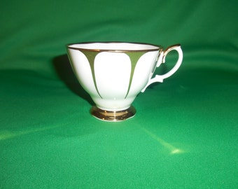 """One (1), Bone China, 2 3/4"""" Footed Tea Cup, from Royal Vale, of England."""