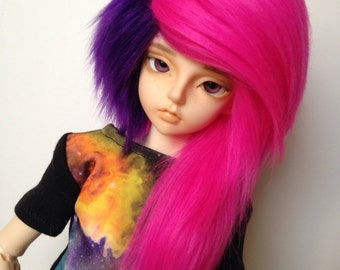 MSD Edgy Extension Fur Wig [Your Color Choice!]