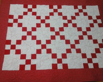 Red Baby  Baseball  Quilt