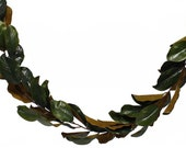 Shiny Magnolia Leaf Garland Artificial Garlands are Ideal for Creating Beautiful Floral Decorations for Weddings, Events and Home Decor