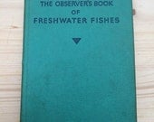 Observer's Book of Freshwater Fishes vintage